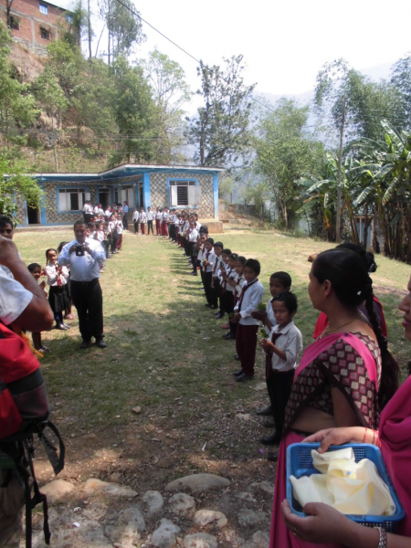 Nepal school students 3
